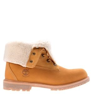 Gently Worn Timberland Fold-Down Boots